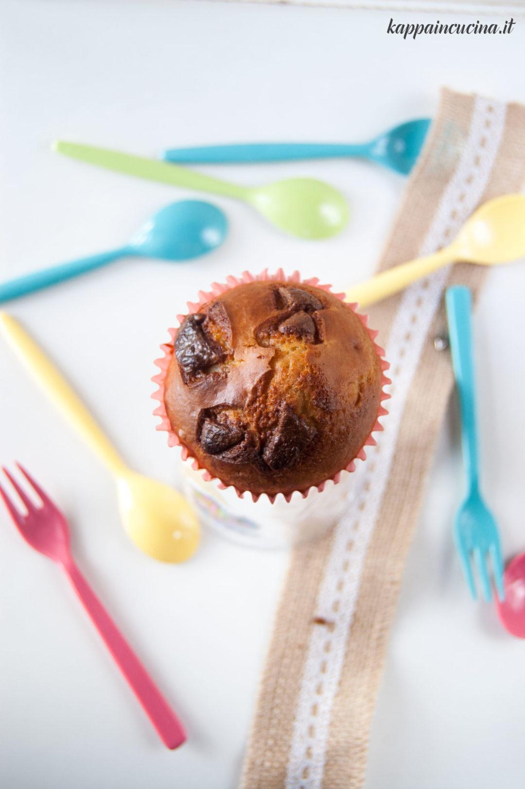 muffin cioccolato veloci facili