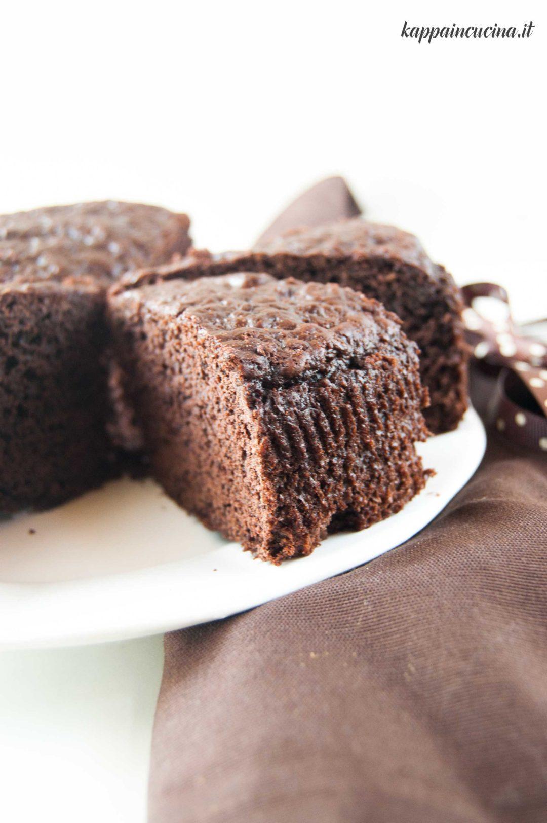 Torta Senza Uova Al Cioccolato.Torta Al Cioccolato