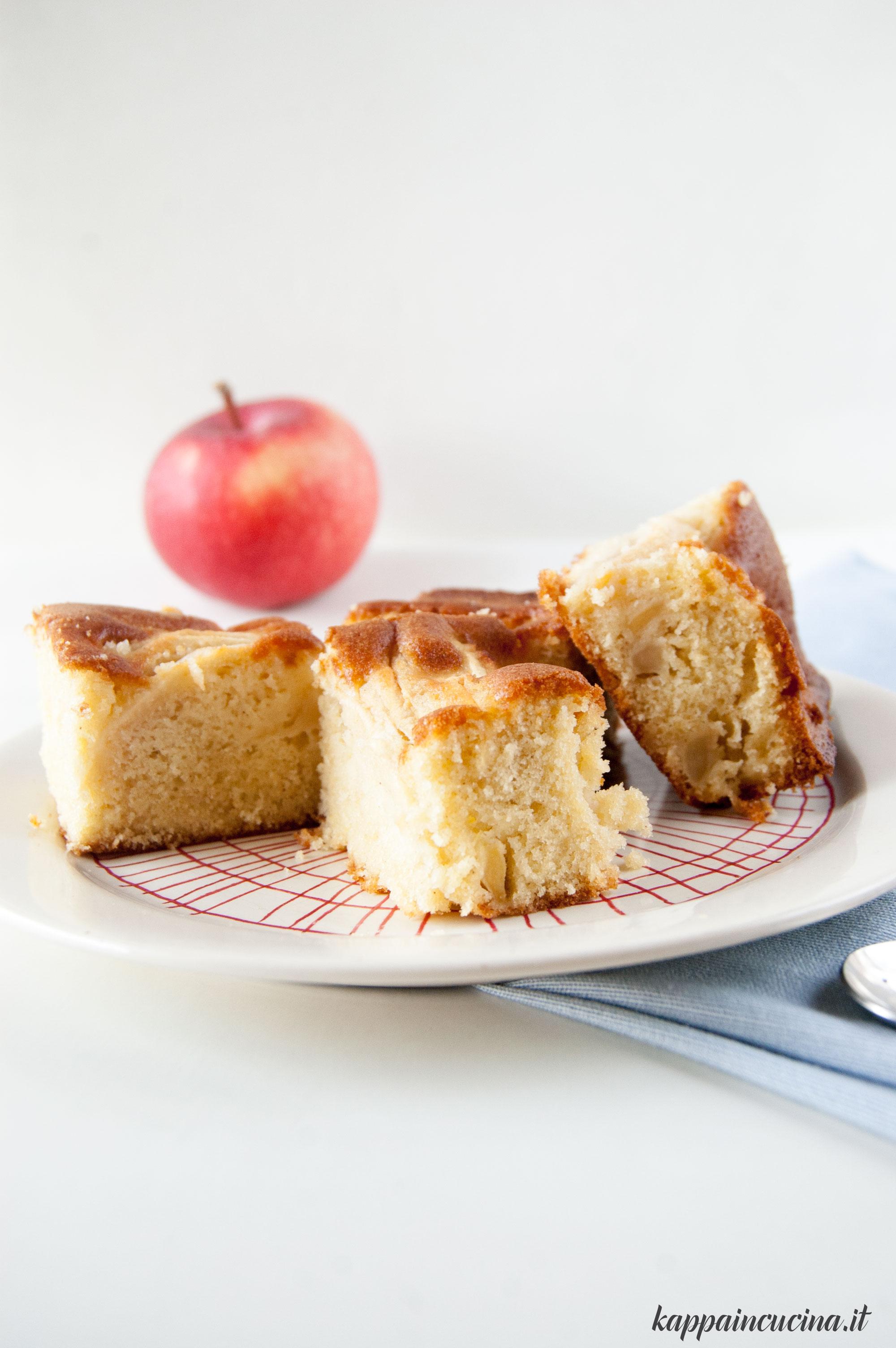 Torta olandese alle mele torta di mele morbida kappa - Kappa in cucina ...